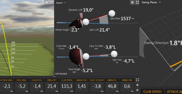 L'Atelier Golf by EGF (83) - Analyse TrackMan, session de 2 hrs avec process MRP GOLF®.